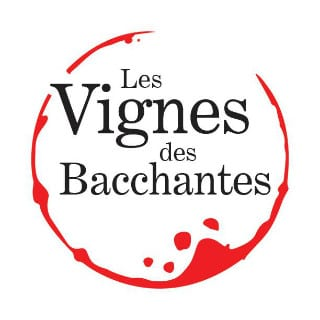 Vineyard logo les vignes des bacchantes hemmingford quebec canada ulocal local products local purchase local produce locavore tourist