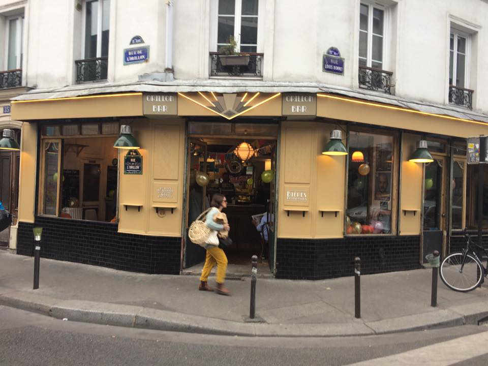 Restaurant alimentation bar alcool vins L'orillon Bar Paris France Ulocal produit local achat local