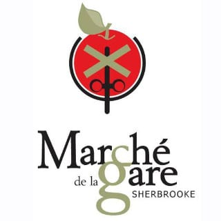 public markets logo marché de la gare de sherbrooke sherbrooke quebec canada ulocal local products local purchase local produce locavore tourist