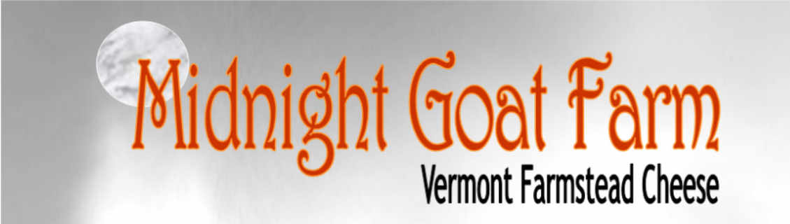 Fromagerie logo Midnight Goat Farm Huntington Vermont États-Unis Ulocal produit local achat local