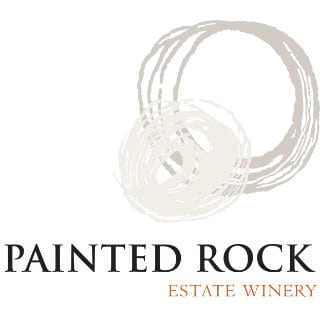 vineyard logo painted rock estate winery penticton british colombia canada ulocal local products local purchase local produce locavore tourist