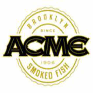 Alimentation logo Acme Smoked Fish Brooklyn New York États-Unis Ulocal produit local achat local