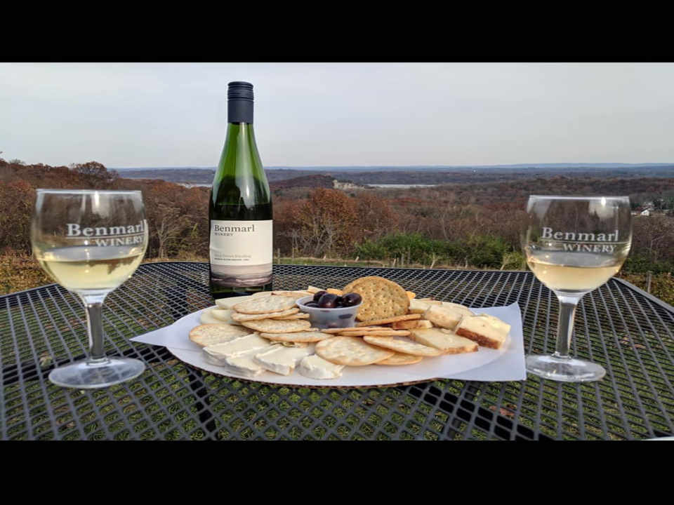 Vineyard wine and cheese Benmarl Winery Marlboro New York United States Ulocal local product local purchase