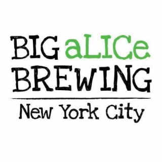 Microbrasserie logo Big Alice Brewing Co. Long Island City New York États-Unis Ulocal produit local achat local