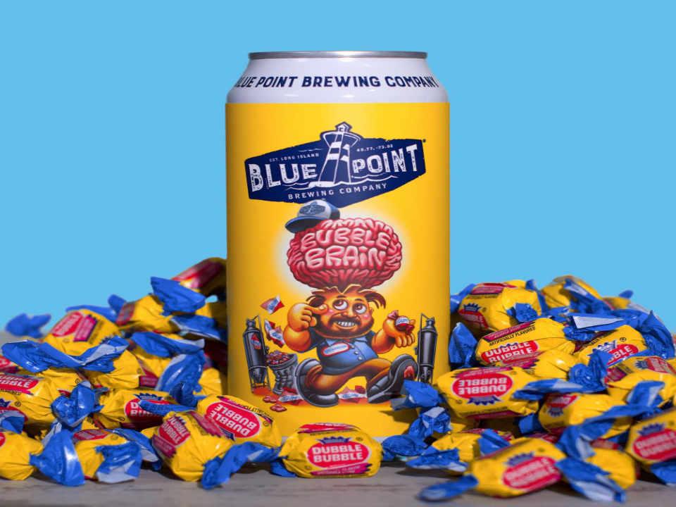 Microbrasserie canette de bière Blue Point Brewing Company Patchogue New York États-Unis Ulocal Produit local achat local