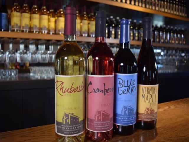 Vignoble bouteilles de vin Boyden Valley Winery & Spirits Jeffersonville Vermont États-Unis Ulocal produit local achat local