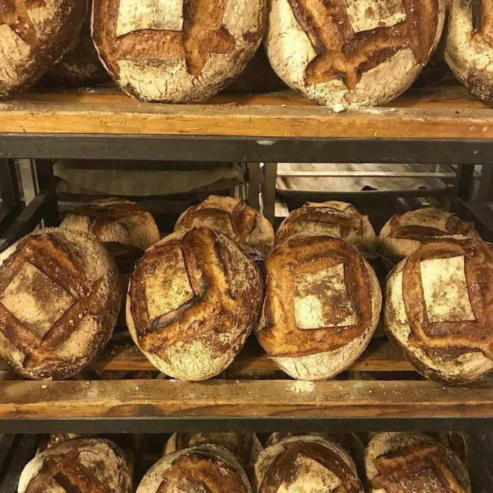 Boulangerie artisanale pains Breads Bakery New York New York États-Unis Ulocal produit local achat local