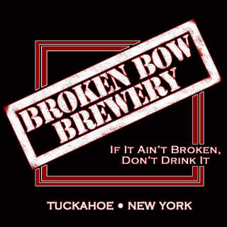 Microbrasserie logo Broken Bow Brewery Tuckahoe New York États-Unis Ulocal produit local achat local