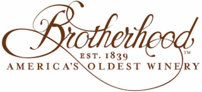 Vignoble logo Brotherhood Winery Washingtonville New York États-Unis Ulocal produit local achat local