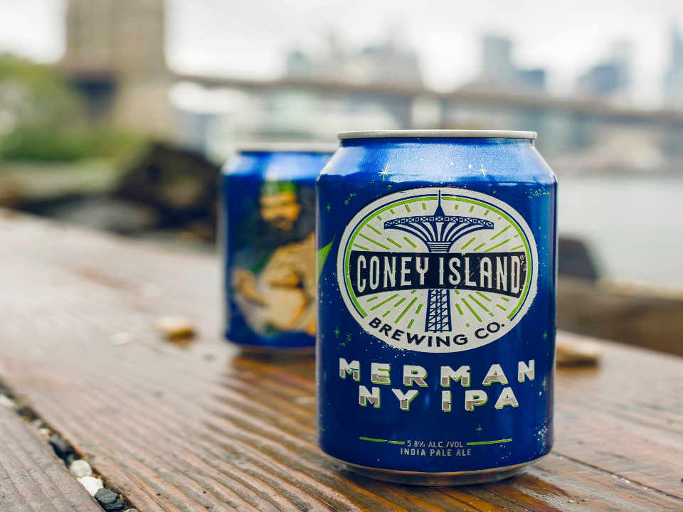 Microbrewery Beer Can Coney Island Brewing Co. Brooklyn New York United States Ulocal Local Product Local Purchase