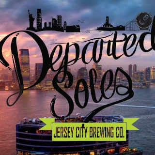 Microbrasserie logo Departed Souls Brewing Co. Jersey City New Jersey États-Unis Ulocal produit local achat local
