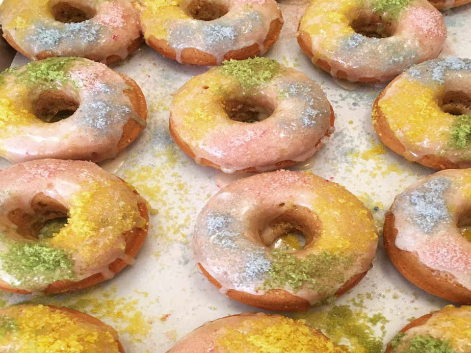 Pastry shop donuts Erin McKenna's Bakery New York New York United States Ulocal Local Product Local Purchase