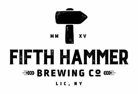 Microbrasserie logo Fifth Hammer Brewing Co. Long Island City New York États-Unis Ulocal produit local achat local