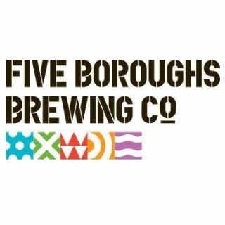 Microbrewery logo Five Boroughs Brewing Co. Brooklyn New York United States Ulocal Local Product Local Purchase