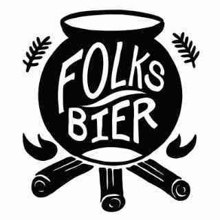 Microbrewery logo Folksbier Brauerei Brooklyn New York United States Ulocal local product local purchase