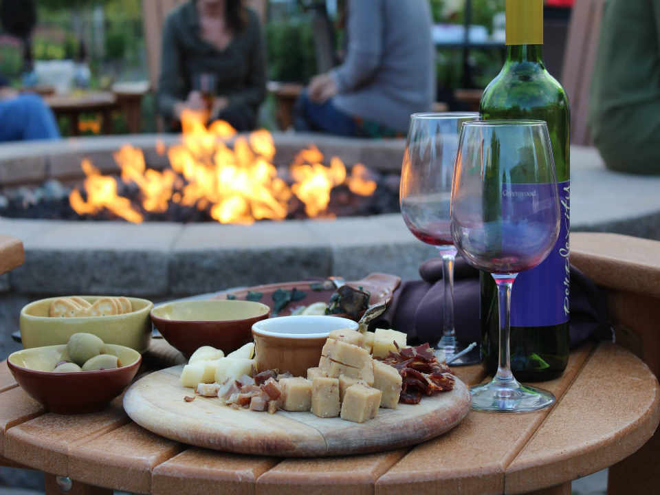Vineyard wine and cheese Greenwood Winery & Bistro East Syracuse New York United States Ulocal Local Product Local Purchase