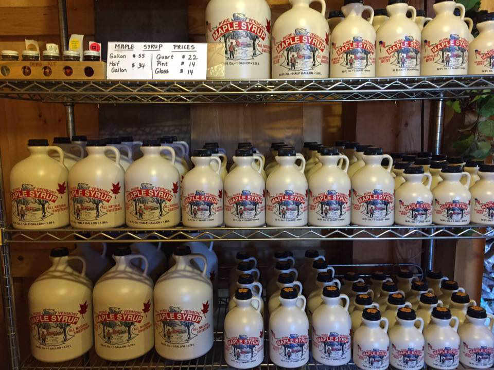 Vineyard maple syrup Hillis' Sugarbush Farm & Vineyard Colchester Vermont USA Ulocal Local Product Local Purchase
