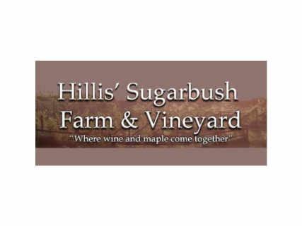 Vineyard logo Hillis' Sugarbush Farm & Vineyard Colchester Vermont USA Ulocal Local Product Local Purchase