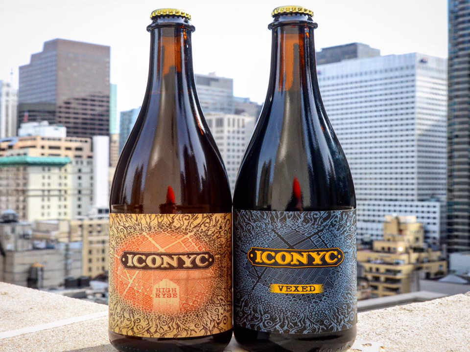 Microbrewery Beer Bottles Iconyc Brewing Company Long Island City New York United States Ulocal Local Product Local Purchase