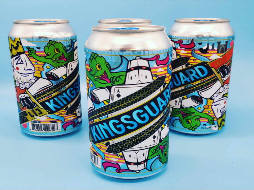 Microbrasserie canettes de bière LIC Beer Project Long Island City New York États-Unis Ulocal produit local achat local