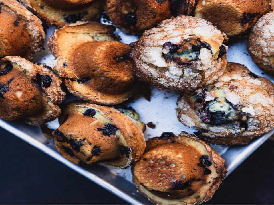 Pastry shop muffins Levain Bakery New York New York United States Ulocal local product local purchase