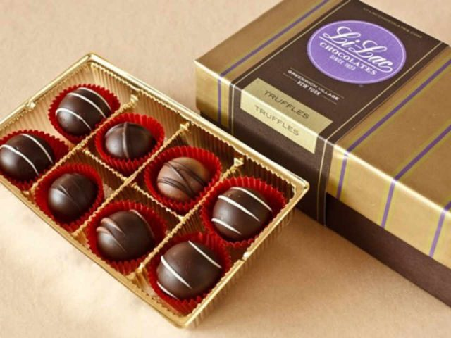 Chocolaterie chocolats Li-Lac Chocolates New York New York États-Unis Ulocal produit local achat local