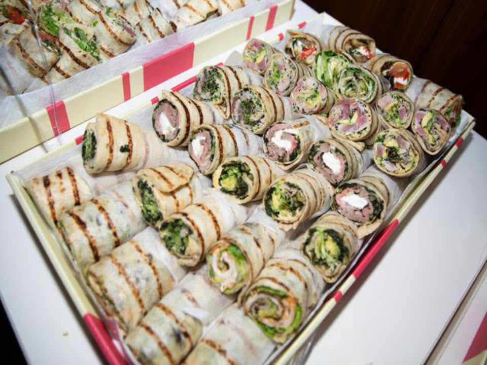 Restaurant wrap Mangia New York New York États-Unis Ulocal produit local achat local