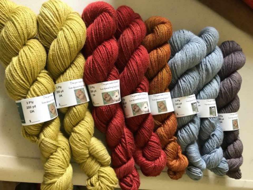 Artisan laine Maple View Farm Brandon Vermont États-Unis Ulocal produit local achat local
