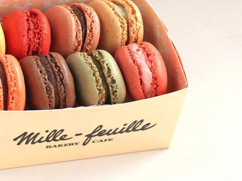 Pastry shop Macarons Mille-Feuille Bakery New York New York United States Ulocal Local Product Local Purchase