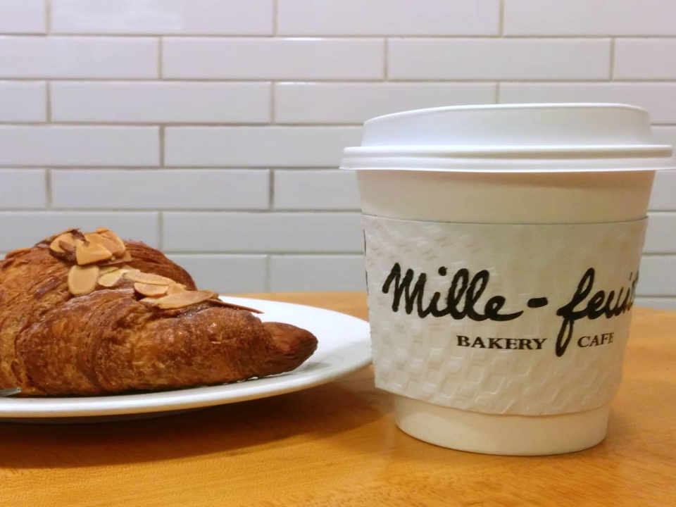 Pastry shop croissant coffee Mille-Feuille Bakery New York New York United States Ulocal Local Product Local Purchase