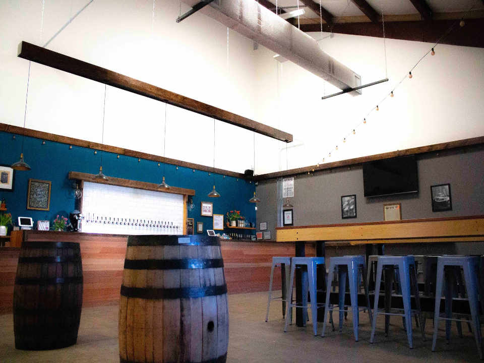 Microbrewery taproom Mustache Brewing Company Riverhead New York United States Ulocal Local Product Local Purchase