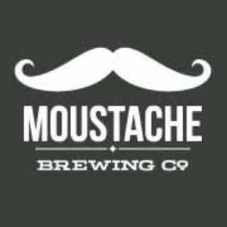 Microbrewery logo Mustache Brewing Company Riverhead New York United States Ulocal Local Product Local Purchase