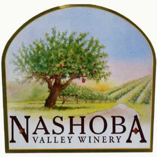Vignoble logo Nashoba Valley Winery Bolton Massachusetts États-Unis Ulocal produit local achat local
