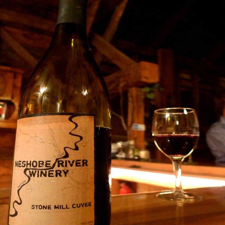 Vineyard wine bottle Neshobe River Winery Brandon Vermont USA Ulocal Local Product Local Purchase
