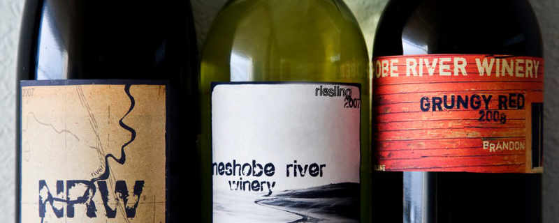 Vineyard Wine Bottle Neshobe River Winery Brandon Vermont USA Ulocal Local Product Local Purchase