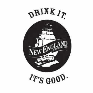 Microbrasserie logo New England Brewing Co. Woodbridge Connecticut États-Unis Ulocal produit local achat local