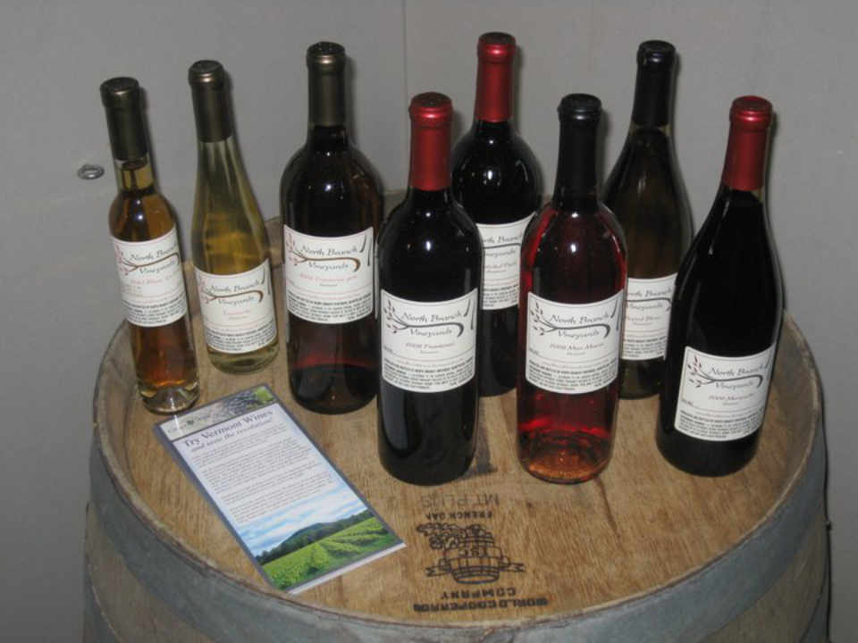 Vineyard Wine Bottles North Branch Vineyards Montpelier Vermont USA Ulocal Local Product Local Purchase