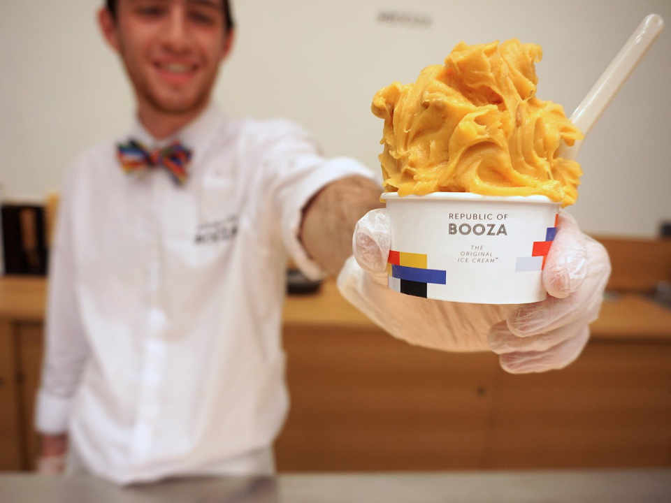Restaurant Ice cream Booza Republic of Booza Brooklyn New York United States Ulocal Local Product Local Purchase