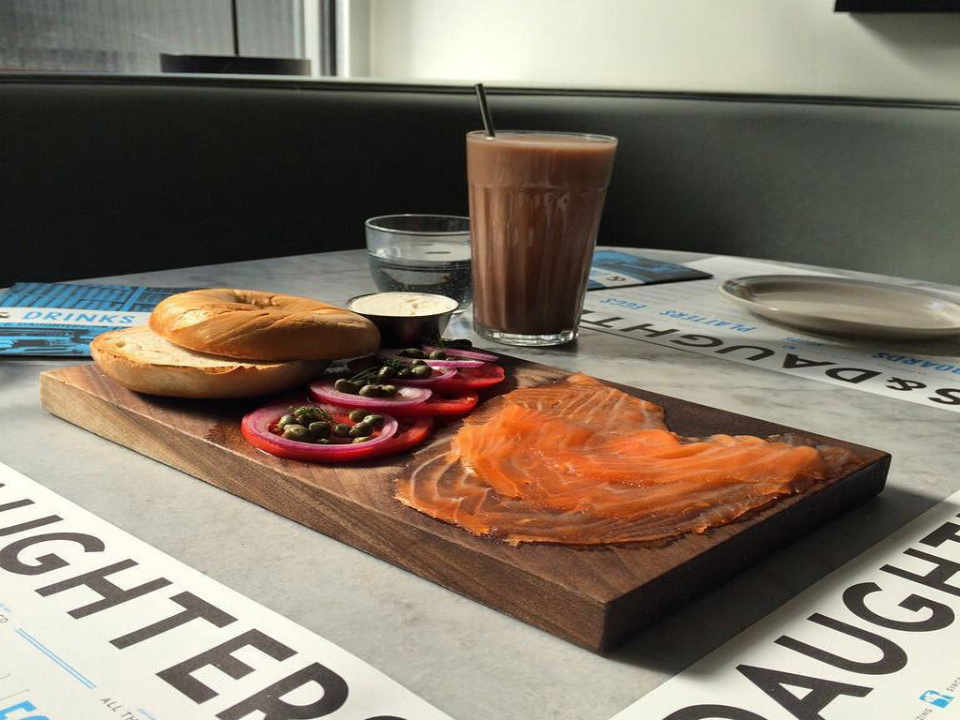 Food store Bagel Smoked Salmon Russ & Daughters New York New York United States Ulocal Local Product Local Purchase