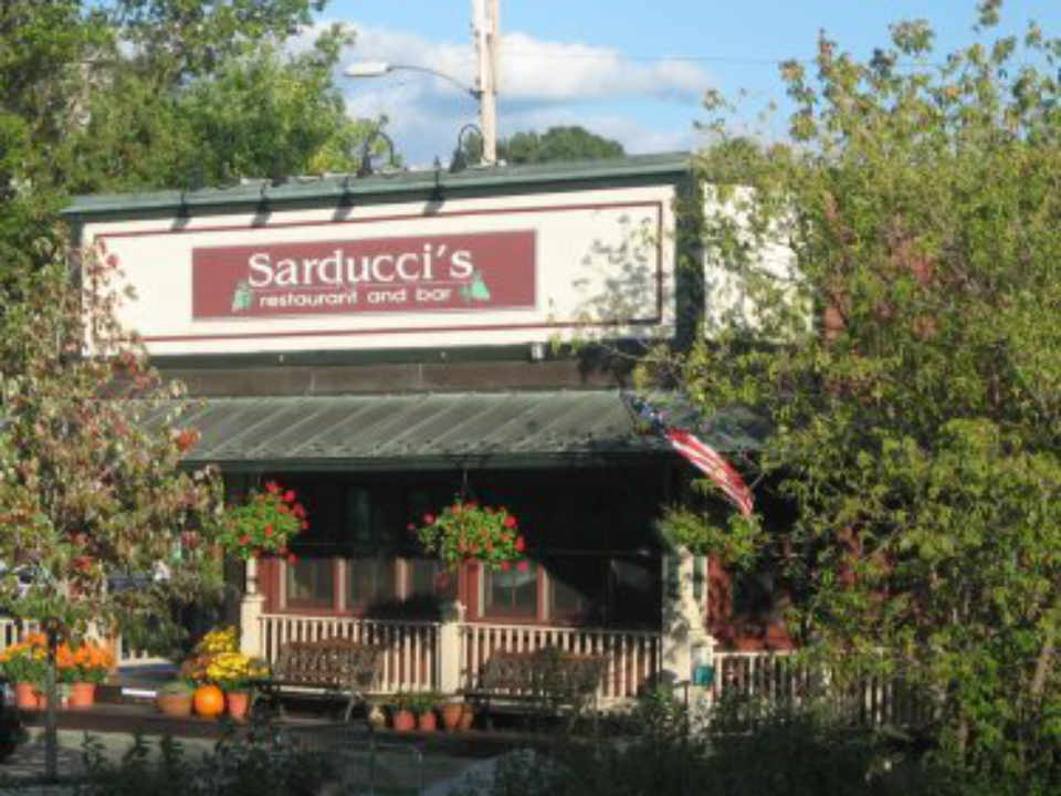 Restaurant front Sarducci's Montpelier Vermont USA Ulocal Local Product Local Purchase