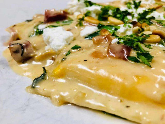 Restaurant pâtes Sarducci's Montpelier Vermont États-Unis Ulocal produit local achat local