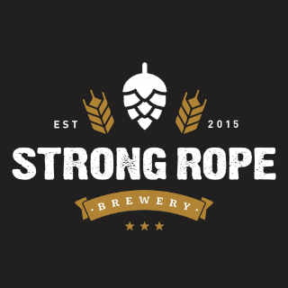 Microbrewery logo Strong Rope Brewery Brooklyn New York United States Ulocal local product local purchase
