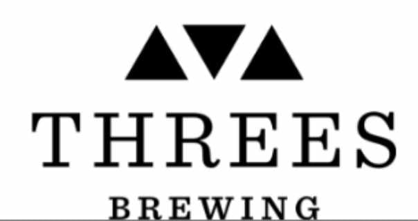 Microbrewery logo Threes Brewing Brooklyn New York United States Ulocal local product local purchase