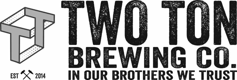 Microbrewery logo Two Ton Brewing Company Kenilworth New Jersey United States Ulocal Local Product Local Purchase