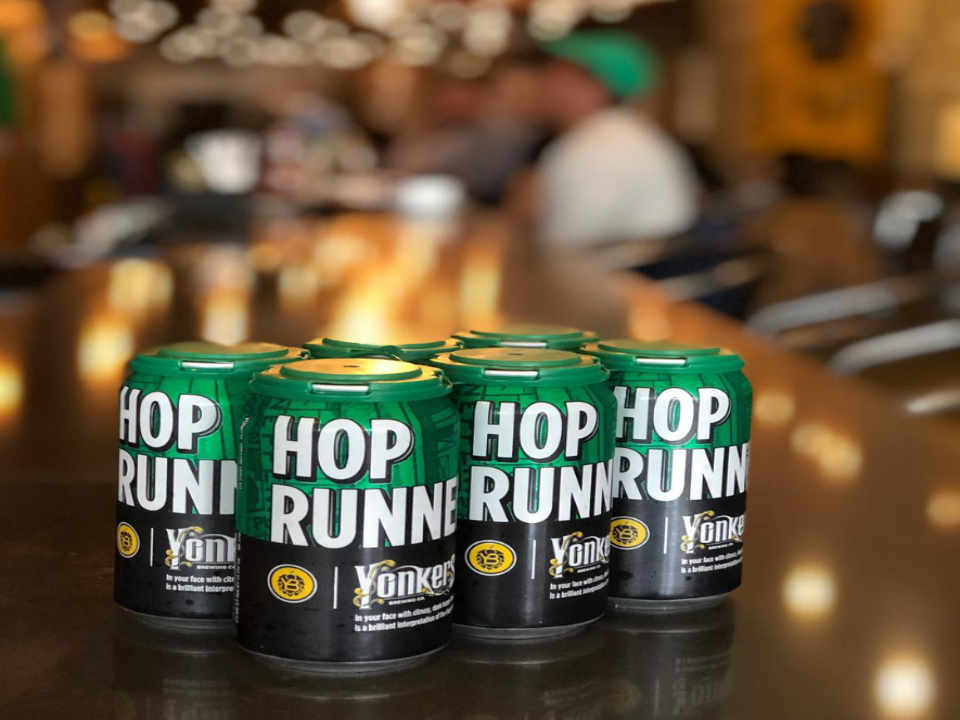 Microbrewery beer cans Yonkers Brewing Co. Yonkers New York United States Ulocal local product local purchase