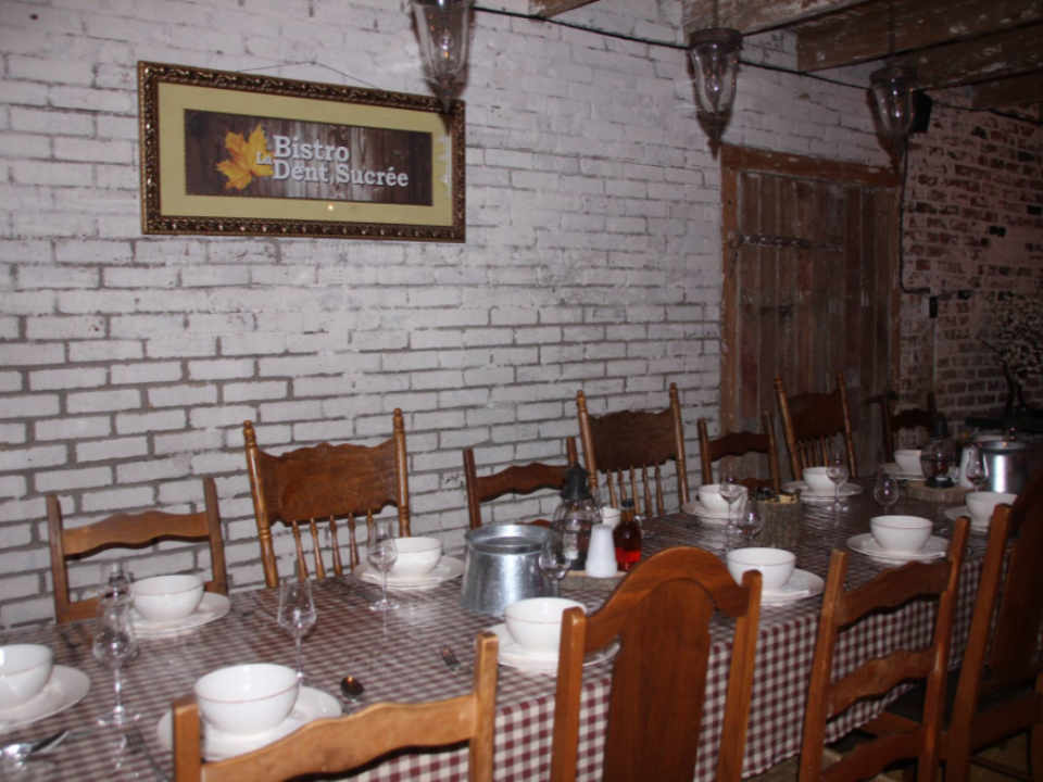 Restaurant Food Sugar Shack Bistro La Dent Sucree Saint-Eustache Quebec Ulocal Local Product Local Purchase