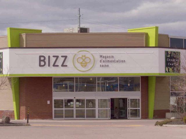Épicerie alimentation biologique BIZZ Magasin d'alimentation saine Chicoutimi Québec ulocal produit local achat local