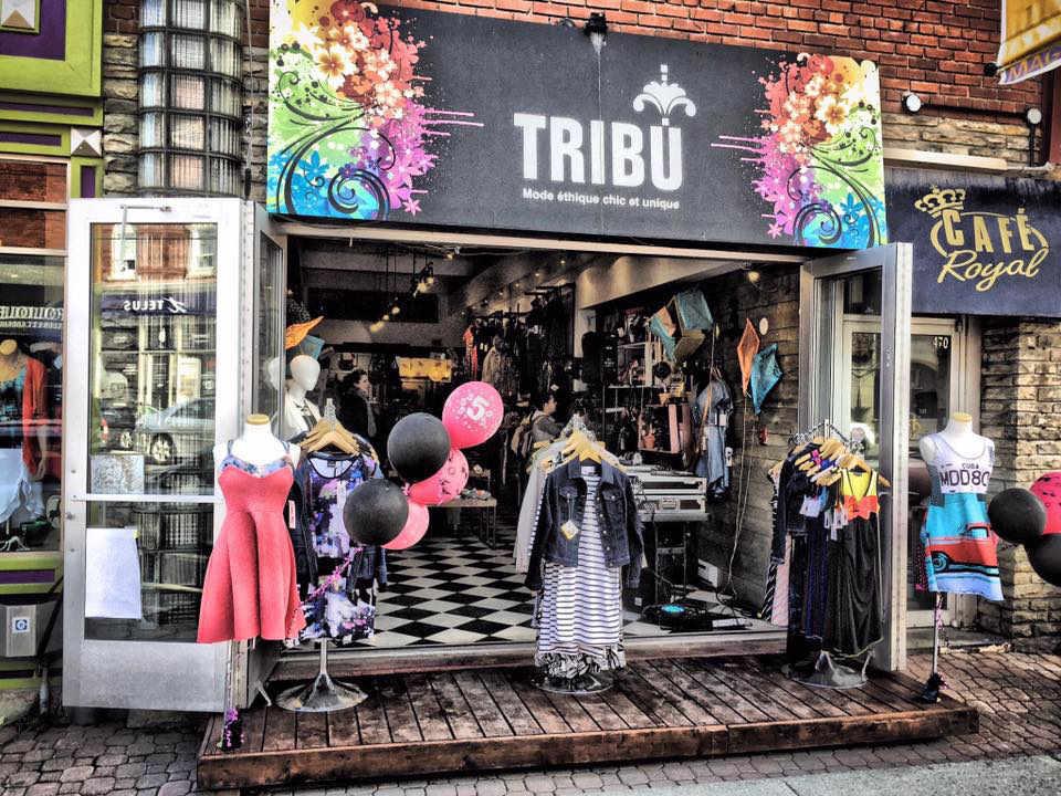 Boutique vêtements quebecois Boutique Tribu Magog Québec Ulocal produit local achat local