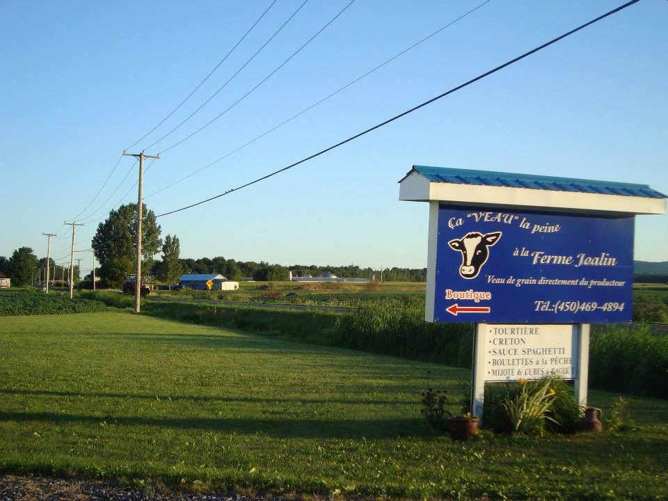 Vente de viandes boutique veau vache Ça VEAU la peine à la Ferme Joalin Sainte-Angèle-de-Monnoir Québec Ulocal produit local achat local produit du terroir
