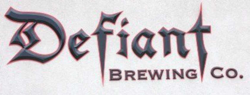 Microbrasserie logo Defiant Brewing Co. Pearl River New York États-Unis Ulocal produit local achat local